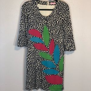 Lilly Pulitzer Angie silk caterpillar shift dress